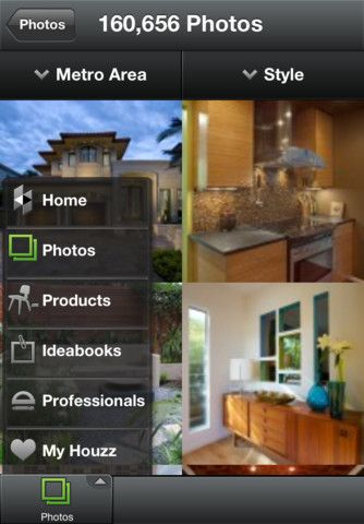 Cool app from Houzz.com for you iPad and iPhone.