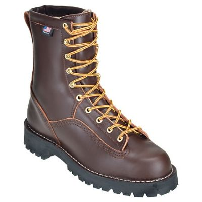 Danner Boots Men&39s USA-Made 10600 Brown Waterproof Rain Forest