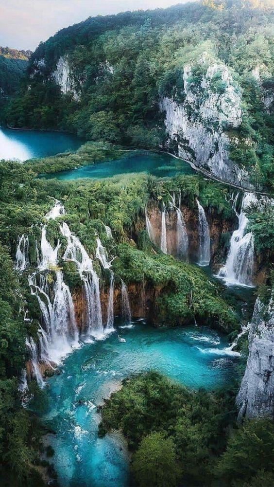 17 Most Beautiful Waterfalls To Put On Your Bucket List Beautiful Landscape Photography Beautiful Landscapes Waterfall