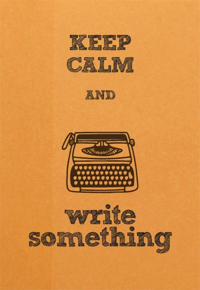 Writing is amazing therapy.