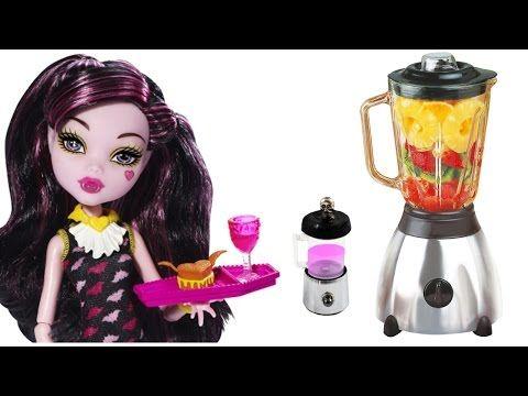 Cómo hacer una licuadora, batidora realista para muñecas - Manualidades para muñecas - YouTube