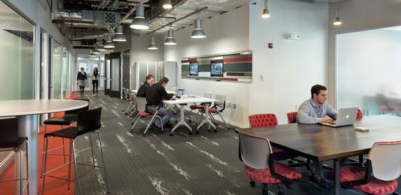 The Cyberhive is an innovative design conscious Incubator space