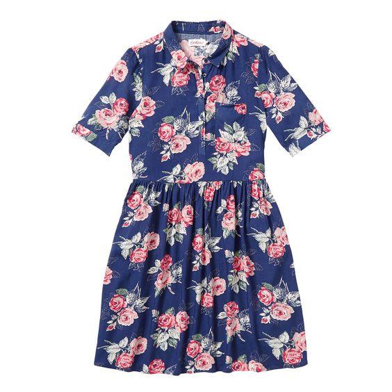 Robes et Jupes | Robe à col Grove Rose | CathKidston