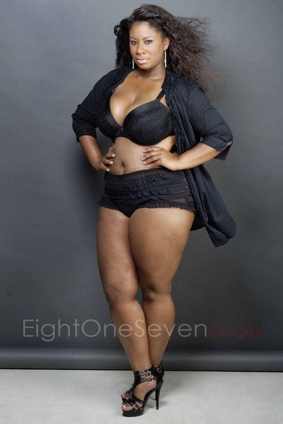 Dark Chocolate Thick  Curvy Dime  Big Bad Thick Women -1043