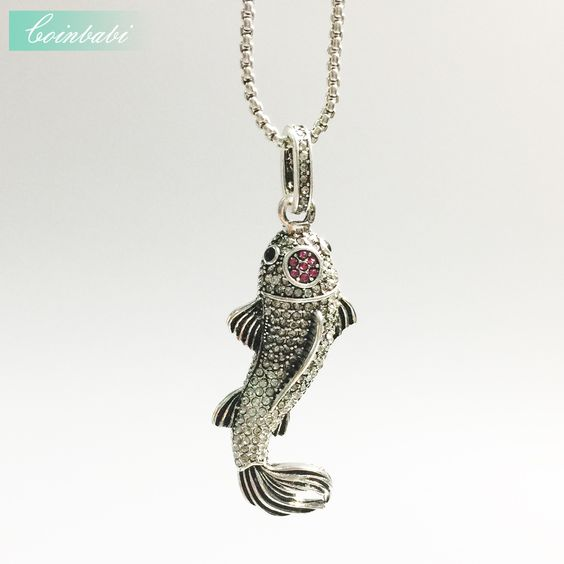 koi necklace and koi fish pendant koi fish jewelry