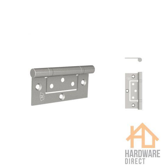 Mccallum Stainless Steel Fast Fix Interfold Door Hinge Tools Hardware Safety Safetyfirst Construction Metallic Aluminum Hinges Door Hardware Door Hinges