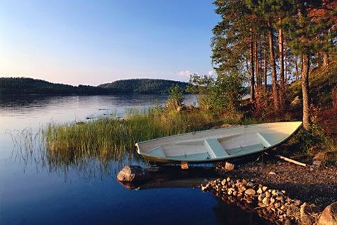 Finnland Landschaft Sommer im Finnland Reiseführer http://www.abenteurer.net/1626-finnland-reisefuehrer/