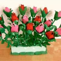 tulipe en bo te d 39 oeuf en carton activit manuelle et bricolage enfant printemps pinterest. Black Bedroom Furniture Sets. Home Design Ideas
