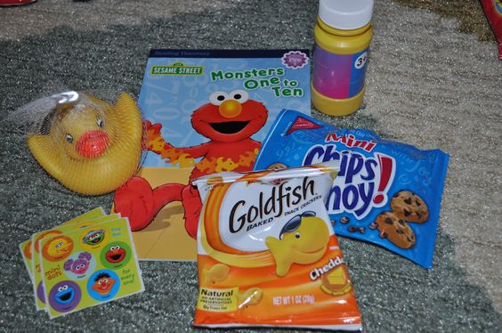 sesame street goodie bags - Google Search