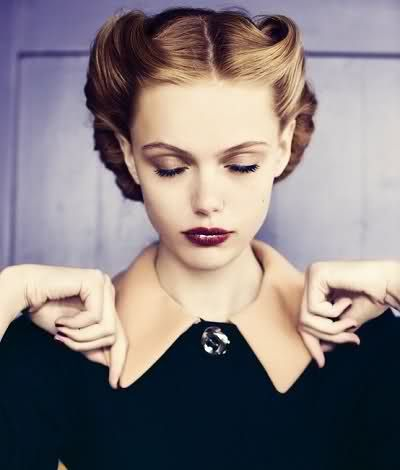 Amazing Updo Pin Up Hairstyles And Short Hairstyles On Pinterest Short Hairstyles Gunalazisus