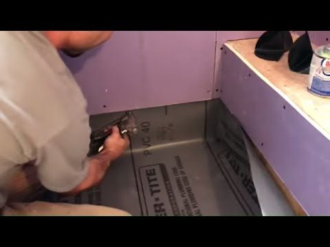 Easy Shower Pan Liner Tile Coach Episode 9 Youtube Shower Pan