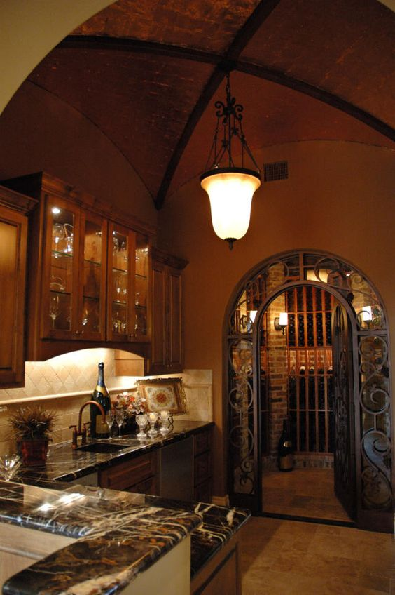 Entry Ways Wine Cellar And Kitchens On Pinterest