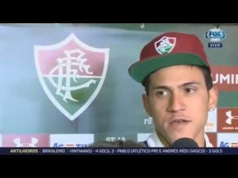 Rafael Tieri Da Chapecoense E Pedro Do Fluminense Falaram Apos