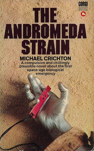 The Andromeda Strain - Michael Crichton 1969 - one of the first 'serious' books I read! And loved the original movie, too.