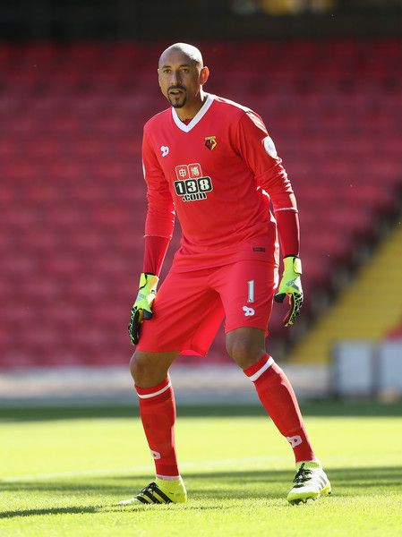 Heurelho Gomes of Watford during the pre-season friendly match between Watford and Lorient at Vicarage Road on August 6, 2016 in Watford,…