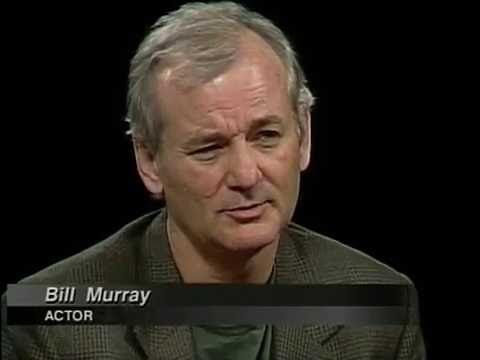 """Bill Murray interview on """"Rushmore"""" on Charlie Rose (1999) - YouTube"""