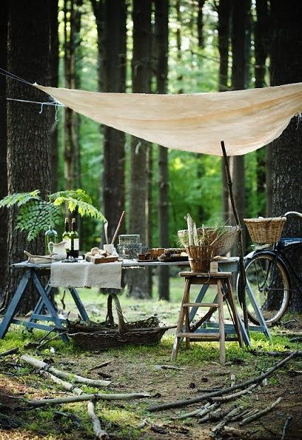 picnic: Outdoor Dining, Summer Picnic, Wood, Perfect Picnic, Party Idea, Picnic Time
