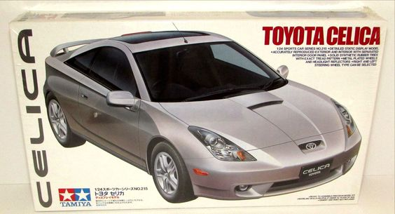 Toyota Celica Tamiya #24215 1/24 Scale New Sports Car Model Kit Discontinued