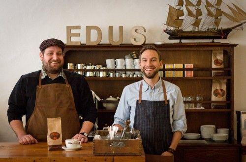 Edu's in Biel - mit Francis et son Ami