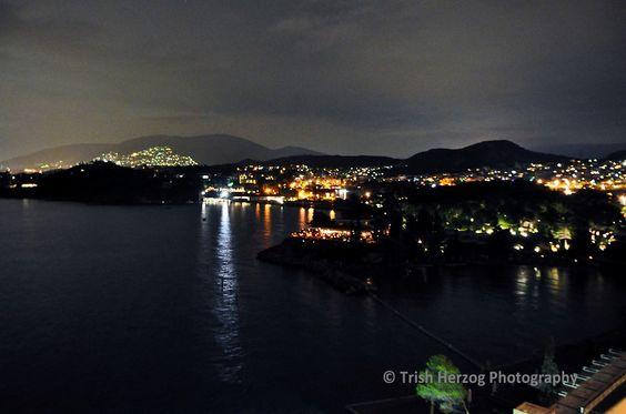 Seaside Athens at Night | Trish Herzog Photography