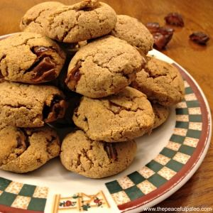 Paleo Coconut Flour Pumpkin and Date Cookies #cheatclean #Paleonoms #Paleotreats #eatrealfood