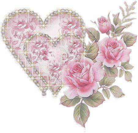 Coeur de roses tendresse...