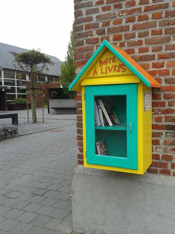 Boîte à livres La Bruyère