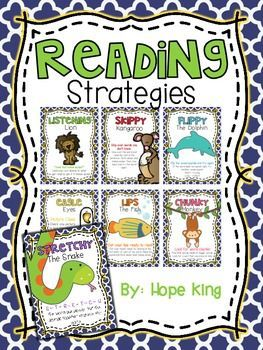 Reading Strategies {Posters} ---- FREE!!