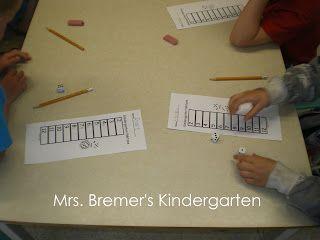 Mrs. Bremer's Kindergarten: Kindergarten Yahtzee!