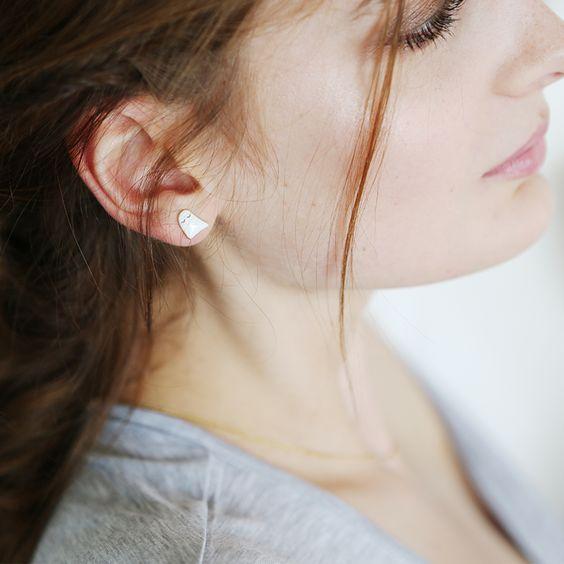 Boucles d'oreille Fantômette