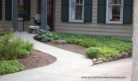 Wheelchair ramp design specs for a more accessible porch for Garden design ideas for disabled