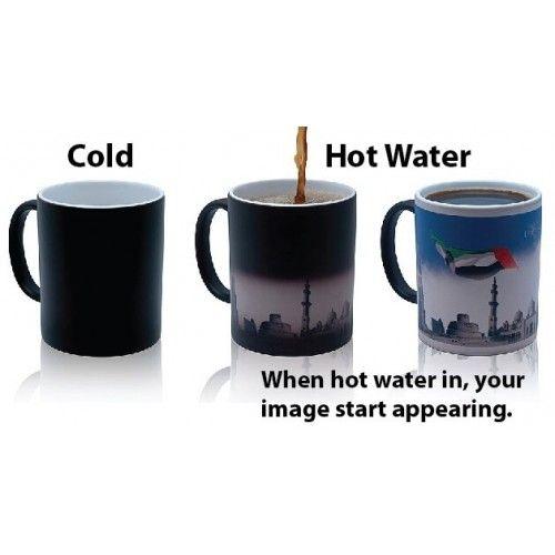 Magic Coffee Mug When Hot Water In
