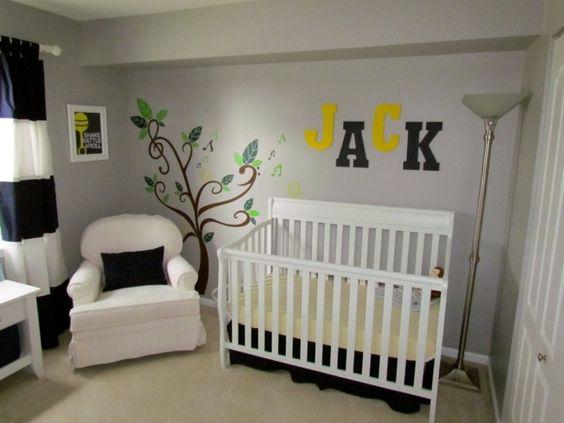 ambiente infantiles, decorar la habitación del bebé