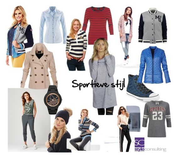 """Persoonlijke stijl: sportief"". By Margriet Roorda on Polyvore featuring mode."