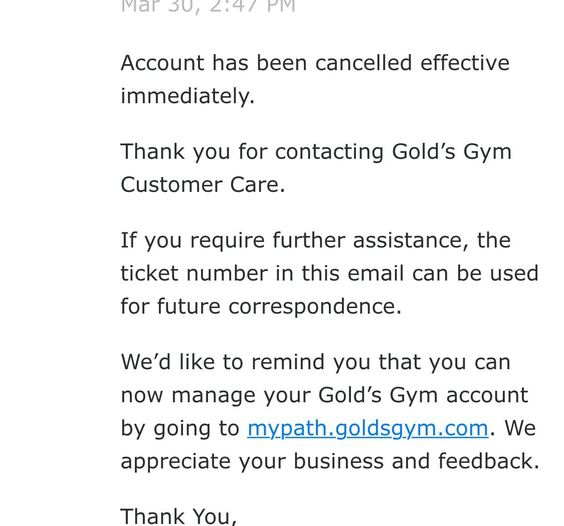 Example Letter Cancel Gym Membership Livestrong Com Sample