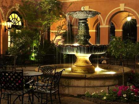 The Mills House, Charleston, South Carolina.  Best southern spot to have a wedding reception....I may be bias.