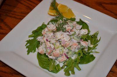 A Healthy Jalapeno: Fresh Shrimp Salad