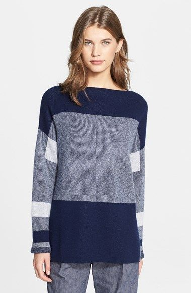 Vince Intarsia Colorblock Sweater available at #Nordstrom