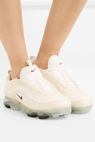 White Air VaporMax 97 faux leather and