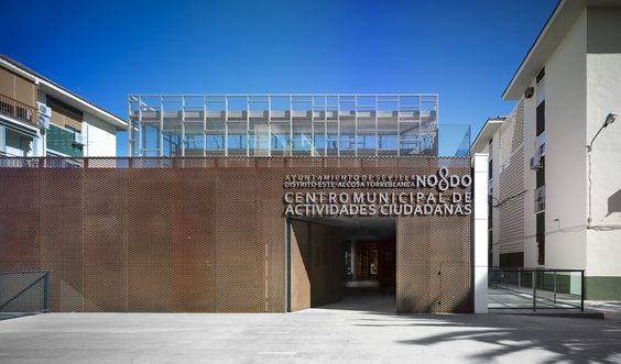 Centro Municipal de Actividades Ciudadanas / Sección B Arquitectura