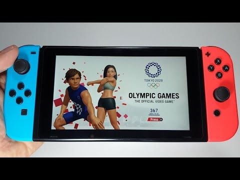 Nintendo Games 2020.Olympic Games Tokyo 2020 The Official Video Game Nintendo