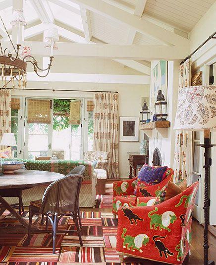 Designer Kathryn Ireland L I V I N G R O O M S Pinterest Kathy Ireland Patterns And