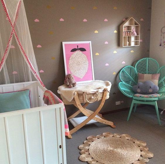 Petite Vintage Interiors - Children's Interior Design - Girls Nursery