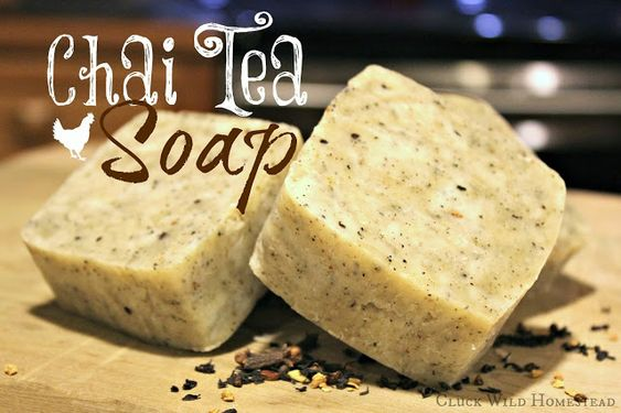 Cluck Wild Homestead: Chai Tea Soap: