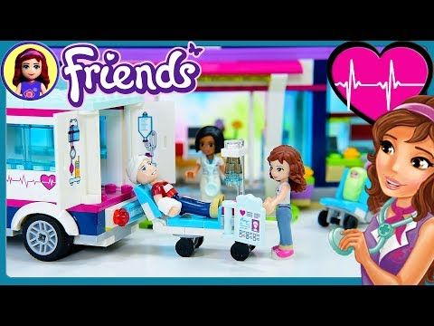 Heartlake Hospital Lego Friends Part 2 Build Review Silly Play Kids Toys Youtube Lego Friends Sets Lego Friends Kids Toys