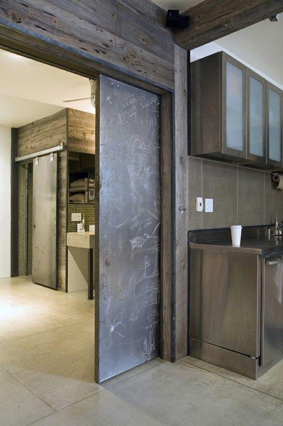 Modern Barn Door Pocket Door By Twig Trove Barn Door