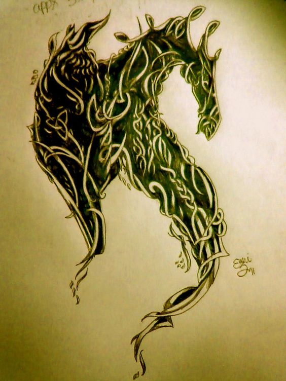 celtic dragon | Celtic Dragon Tattoo Design by ~evellesque on deviantART
