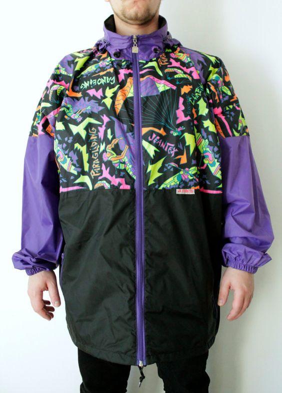 Vintage Raincoat/Jacket by ThePinacoladaShop on Etsy