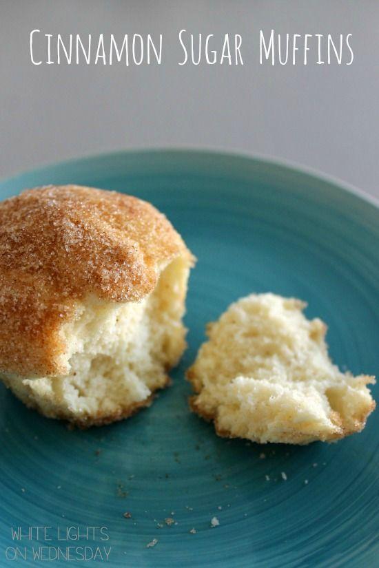 Cinnamon Sugar Muffins from @Julie Forrest {White Lights on Wednesday}