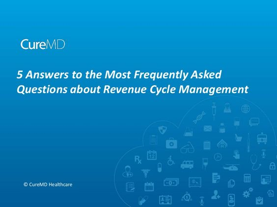 In this presentation you will find the answer of most common questions that physicians are usually concerned about before implementing #RCM #RevenueCycleManagement #Healthcare #HIT #EHR #Physicians #Healthcare